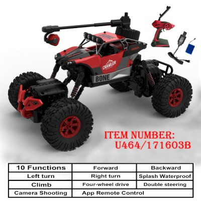 Remote Control Double Steering Climbing Car with Camera