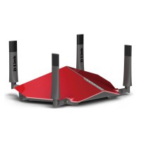 D-Link - AC5300 Dual Band wireless router four antenna DIR885L