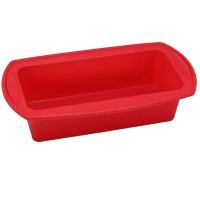 GK 1lb Loaf Pan (Silicone)-Red